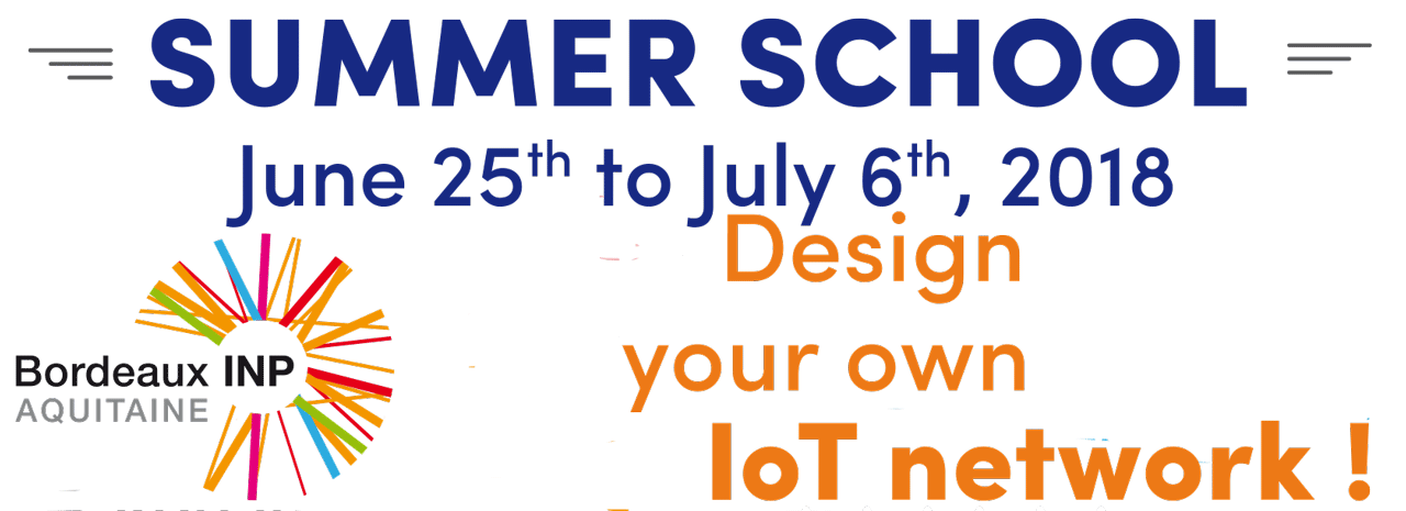 "Summer School ""Design your own IoT network"""